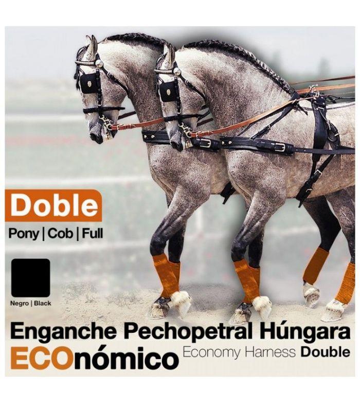 Enganche a la Húngara Doble Nylon/Pvc