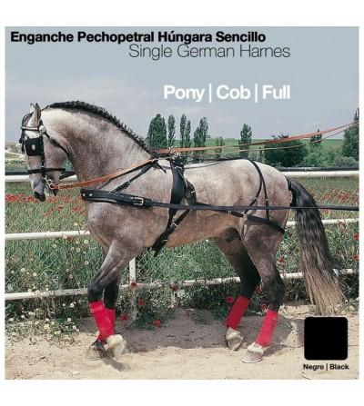Enganche Pechopetral a la Húngara Sencillo Pecherín