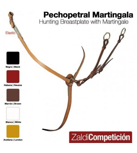 Pechopetral con Martingala Zaldi Competición