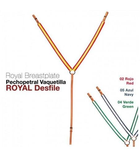 Pechopetral Royal Desfile Alta Escuela
