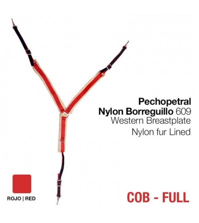 Pechopetral de Nylon y Borrego