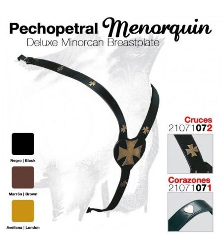 Pechopetral Menorquín Corazones
