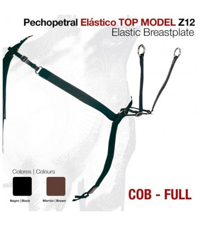 Pechopetral Elástico Top Model Z12