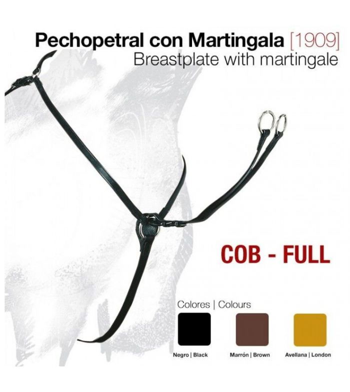 Pechopetral Combinado con Martingala