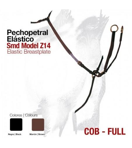 Pechopetral Cuero-Elástico con Martingala Smd Model