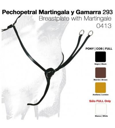 Pechopetral Combinado con Martingala y Gamarra