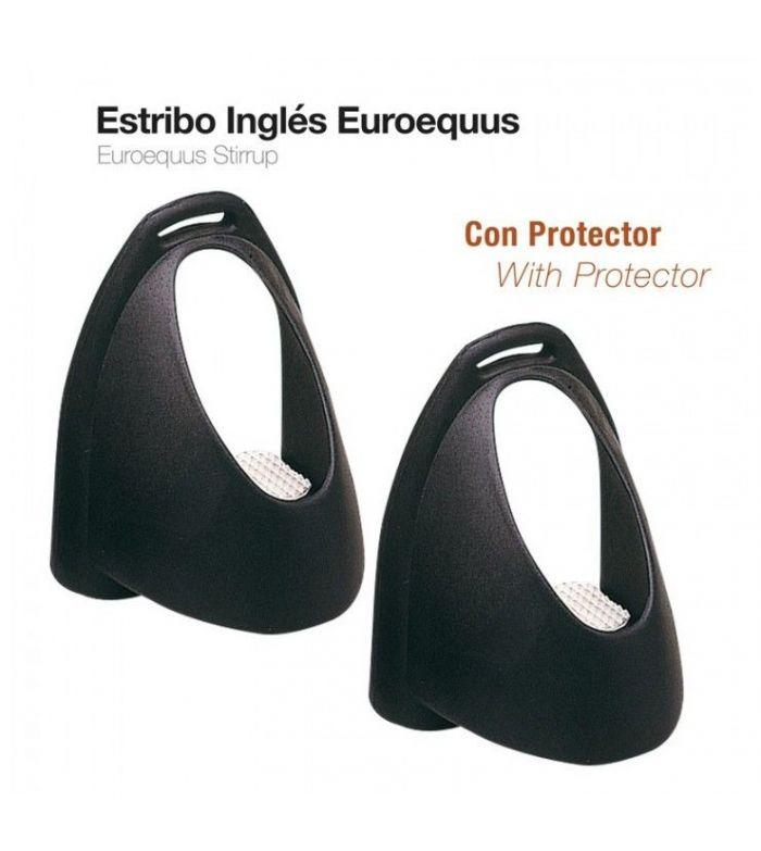 Estribo Inglés Euro-Equus Negro