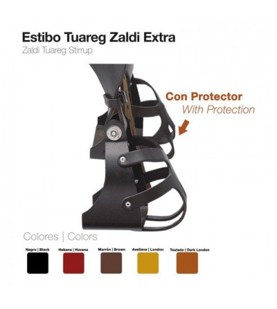 Estribo Zaldi Extra Tuareg con Protección