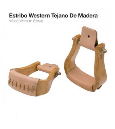 Estribo Western Madera