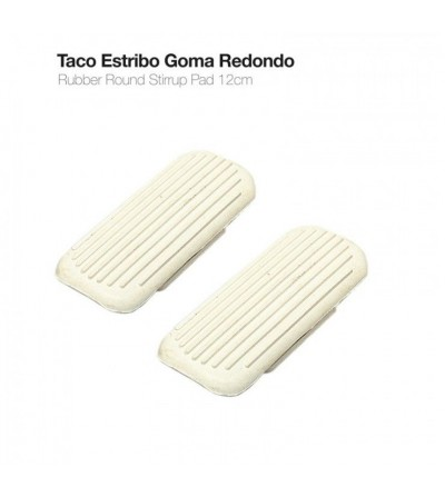 Taco Estribo Goma Redondo 31950 (Par)