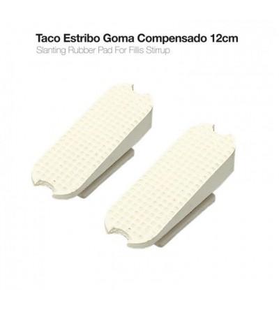 Taco Estribo Compensado 22003R Blanco (Par)