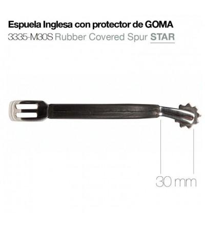 Espuela Inglesa con Protector de Goma Star