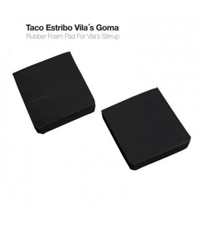 Taco Estribo Vila´S Goma Negro (Par)