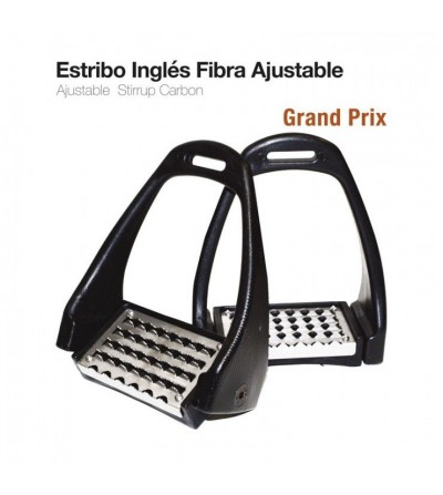 Estribo Ingles Grand-Prix Ajustable