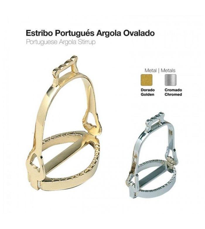 Estribo Portugués Árgola Ovalado
