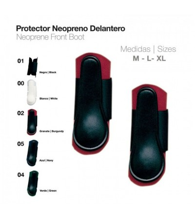 Protector Neopreno Delantero Goma TPE