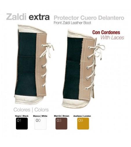 Protector Cuero Delantero con Cordones