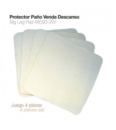 Protector-Paño Bajo Vendas Descanso 4 Uds