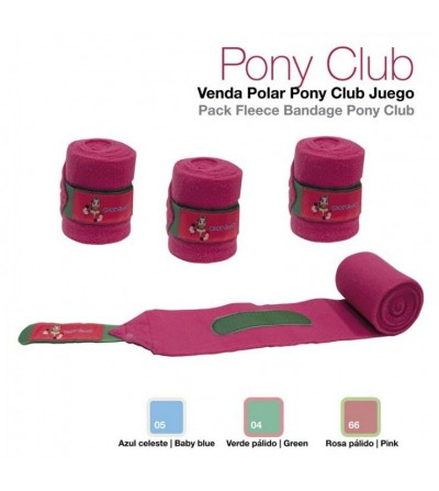 Venda Polar Pony Club 4 Unidades