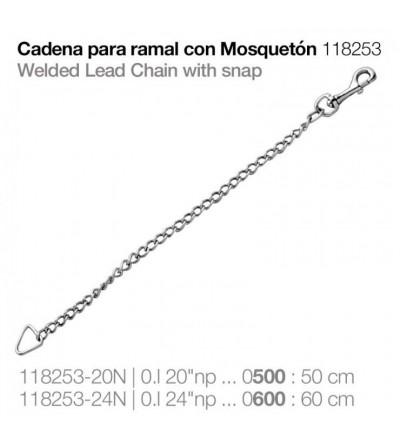 Cadena para Ramal con Mosquetón 118253-24N