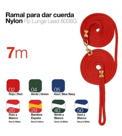 Ramal para Dar Cuerda de fuerte Nylon 7 m