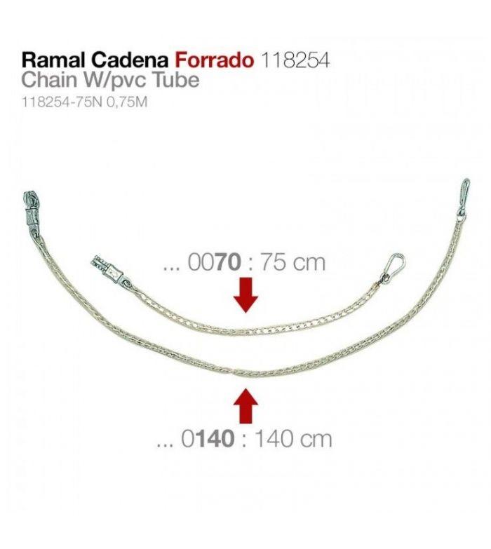Ramal Cadena Forrada con Mosquetón 118254