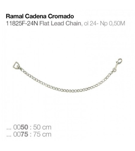 Ramal Cadena Cromado 11825F