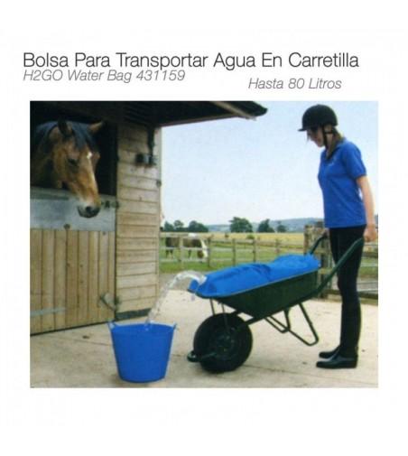 Bolsa para Transportar Agua 80L en Carretilla