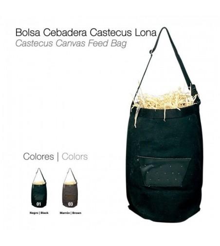 Bolsa Cebadera Castecus de Lona