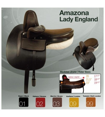 Silla Zaldi Amazona Lady England
