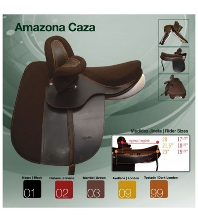 Silla Amazona Uso General Caza