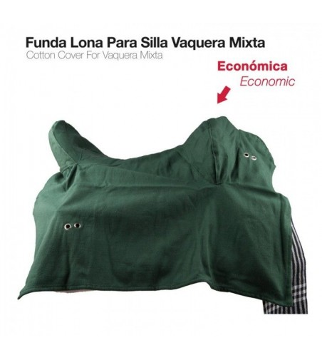 Funda de Lona Vaquera-Mixta Económica Verde