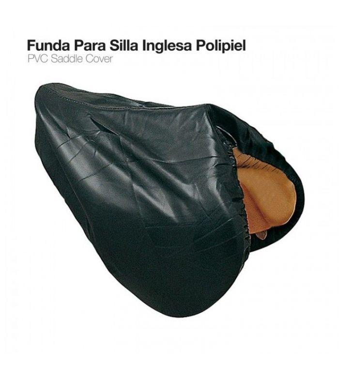 Funda para Silla Inglesa de Polipiel Negra