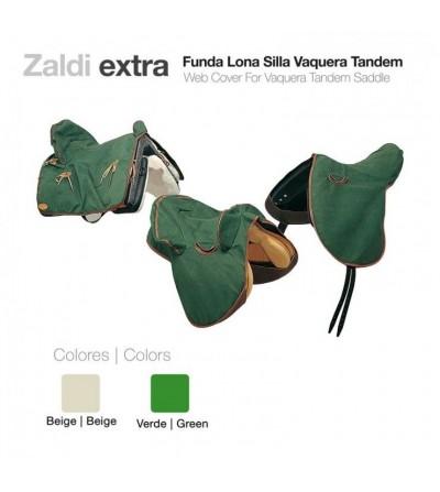Funda de Lona Zaldi-Extra Silla Vaquera Tandem
