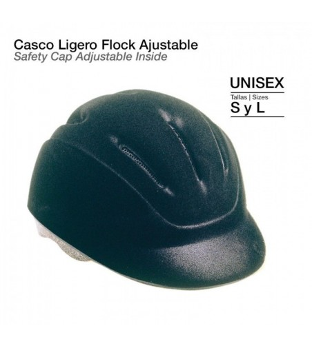 Casco Ligero Flock Ajustable