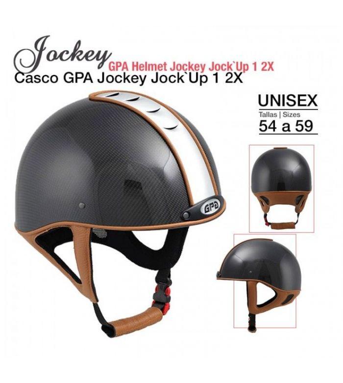 Casco de Montar GPA Jockey Jock-Up 1