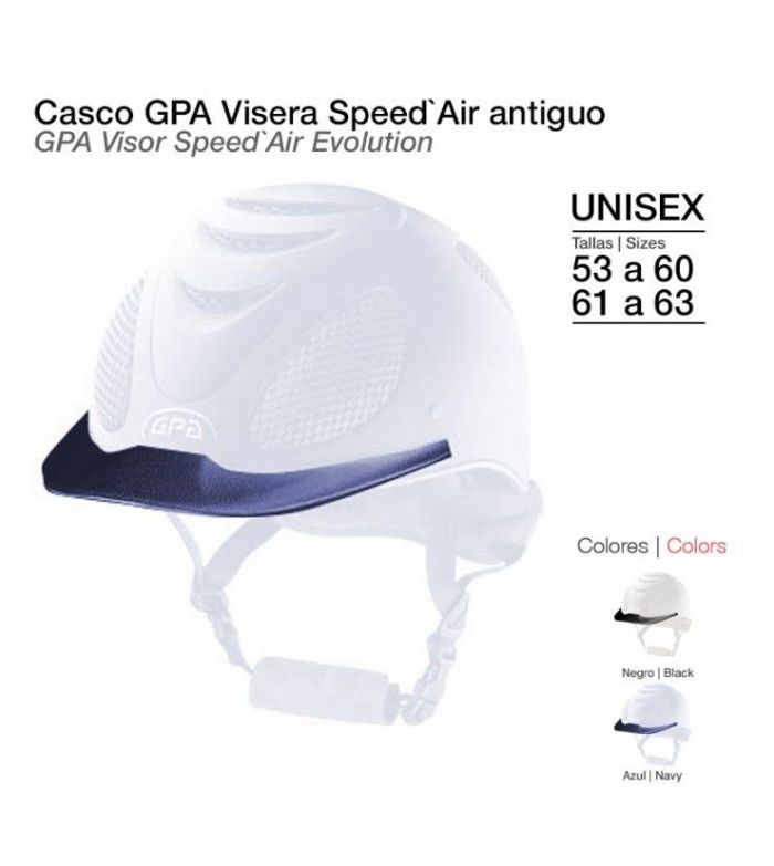 Visera para Casco GPA Speed Air