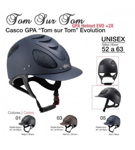 Casco GPA Ton Sur Ton Evolution
