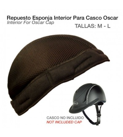 Esponja Interior para Casco de Montar Oscar Pro