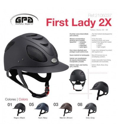 Casco Gpa First Lady 2X