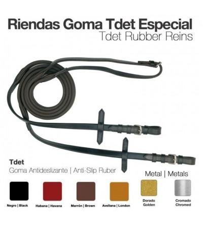 Riendas Goma Tdet-Especial