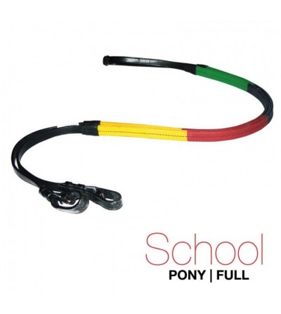 Riendas Goma School Multicolor