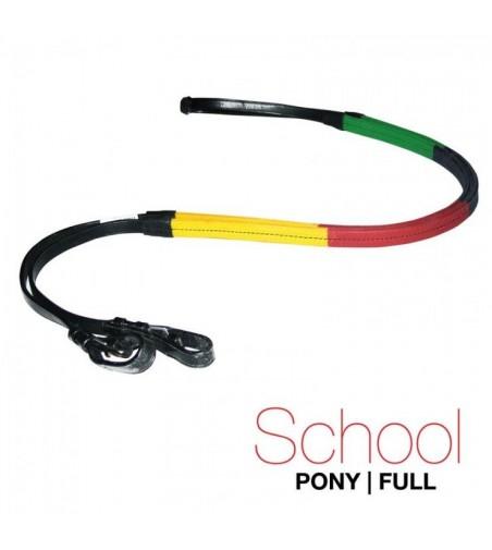 Riendas Goma School Multicolor