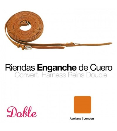 Riendas Doble para Enganche 0764