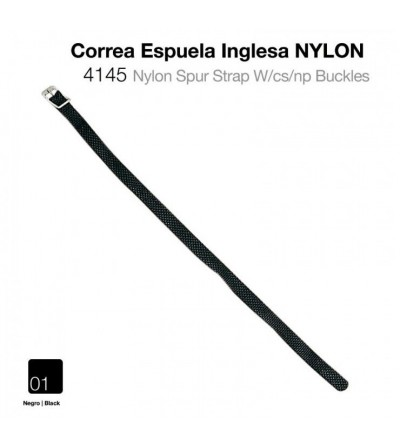 Correa Espuela Inglesa Nylon 4145