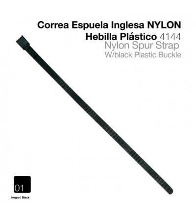 Correa Espuela Inglesa Nylon Hebilla Plástico