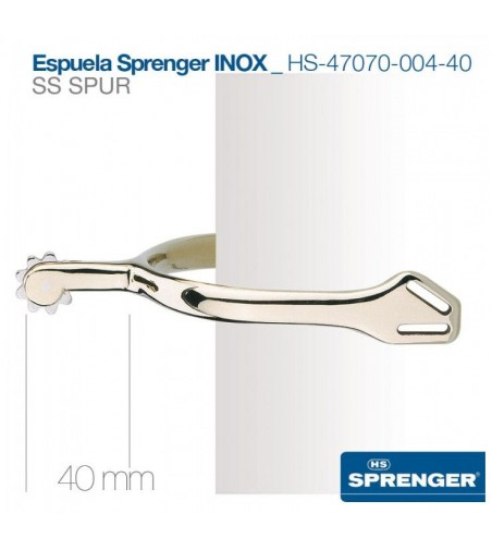 Espuela Hs-Sprenger Inoxidable 47070-004-40 mm