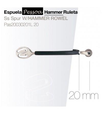 Espuela Pessoa Hammer con Ruleta Pas20030201L