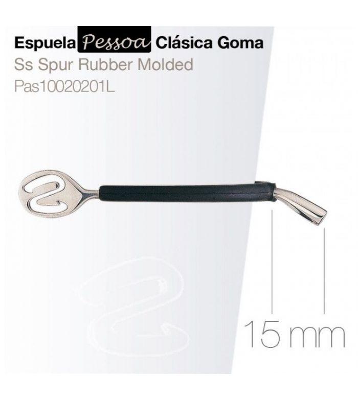 Espuela Pessoa Clásica con Goma Pas10020201 15 mm