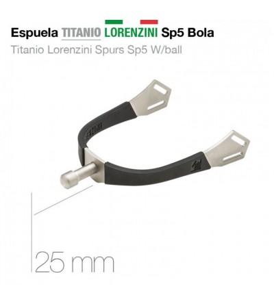 Espuela Titanio Lorenzini Botón 25 mm